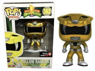 Pop Vinyl Yellow Ranger Metallic 362