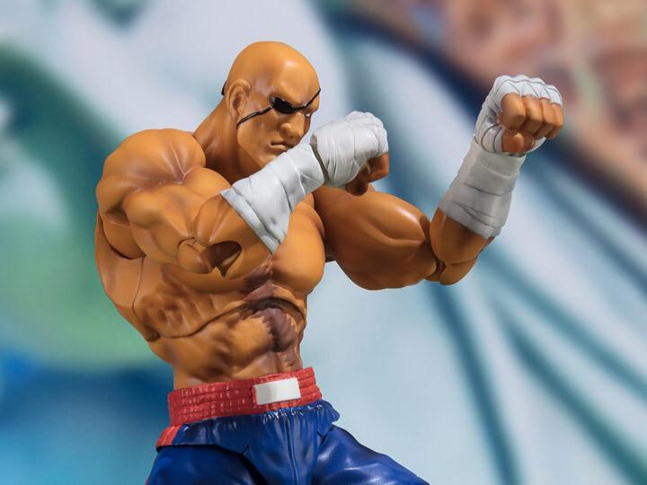 Street Fighter S.H.Figuarts Sagat
