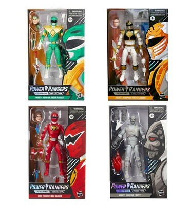 HASBRO POWER RANGERS LIGHTNING COLLECTION SPECTRUM SERIES MIGHTY MORPHIN