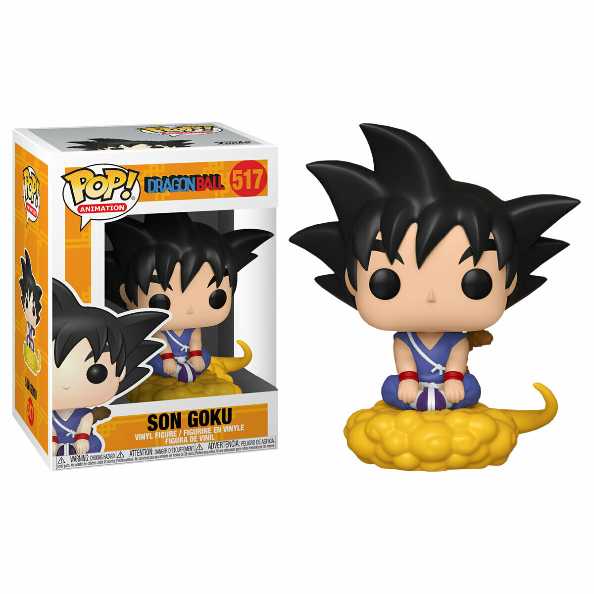 DragonBall - Son Goku and Flying Nimbus Pop! Vinyl Figure