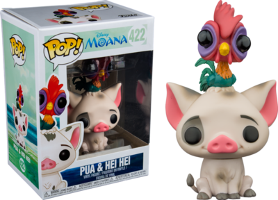 Moana - Pua with Hei Hei Pop! Vinyl Figure