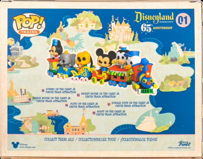 Disneyland: 65th Anniversary - Casey Jr. Circus Train Attraction Pop! Vinyl Figure