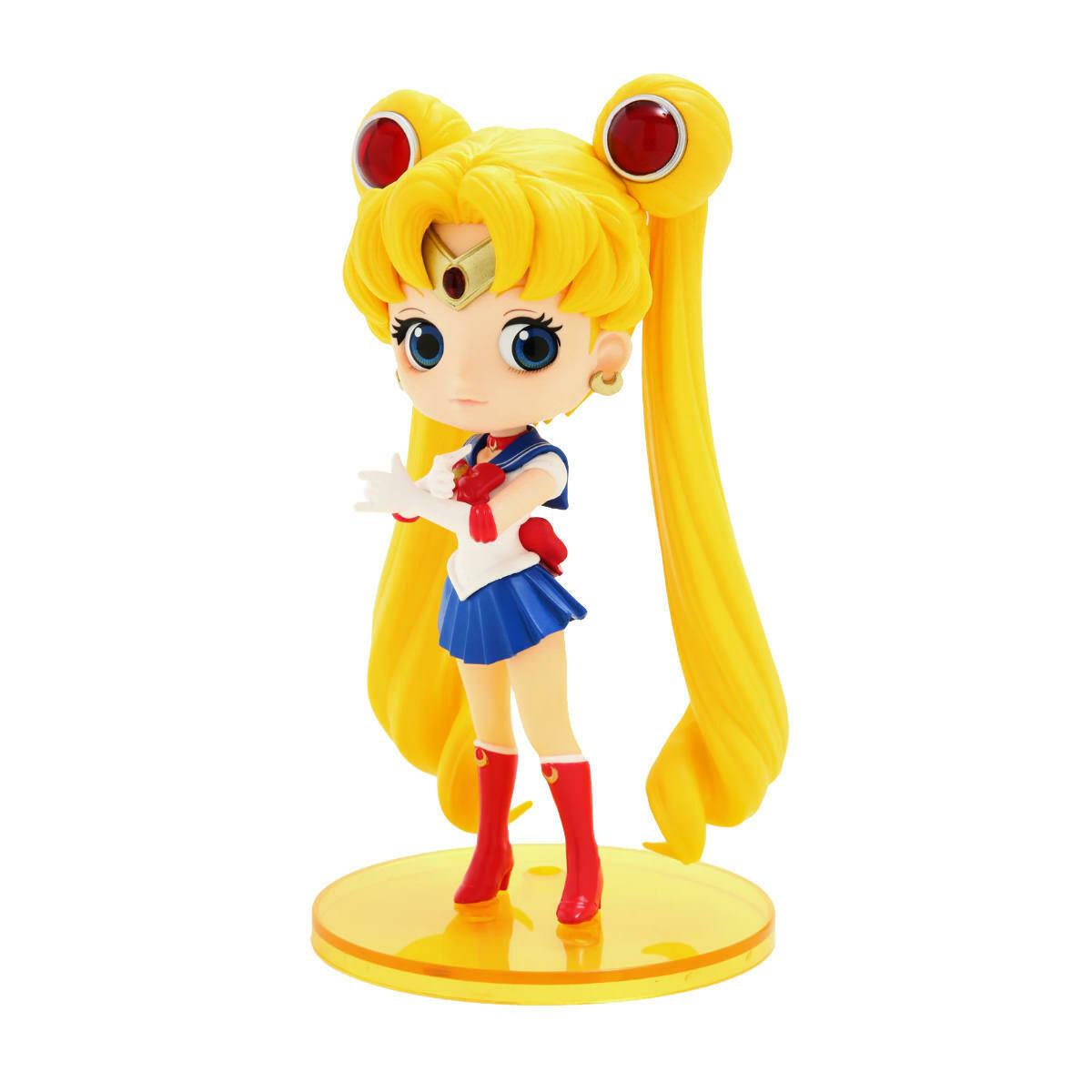 Banpresto Sailor Moon Q Posket Figure Sailor Moon (ex Display)