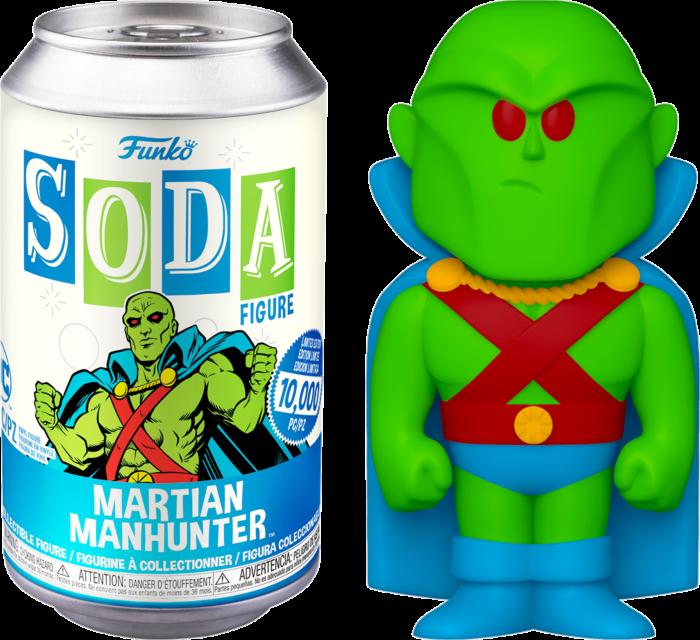 Martian Manhunter - Martian Manhunter Vinyl SODA Figure in Collector Can