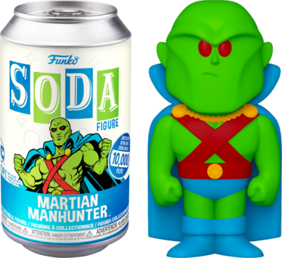 ​Martian Manhunter - Martian Manhunter Vinyl SODA Figure in Collector Can