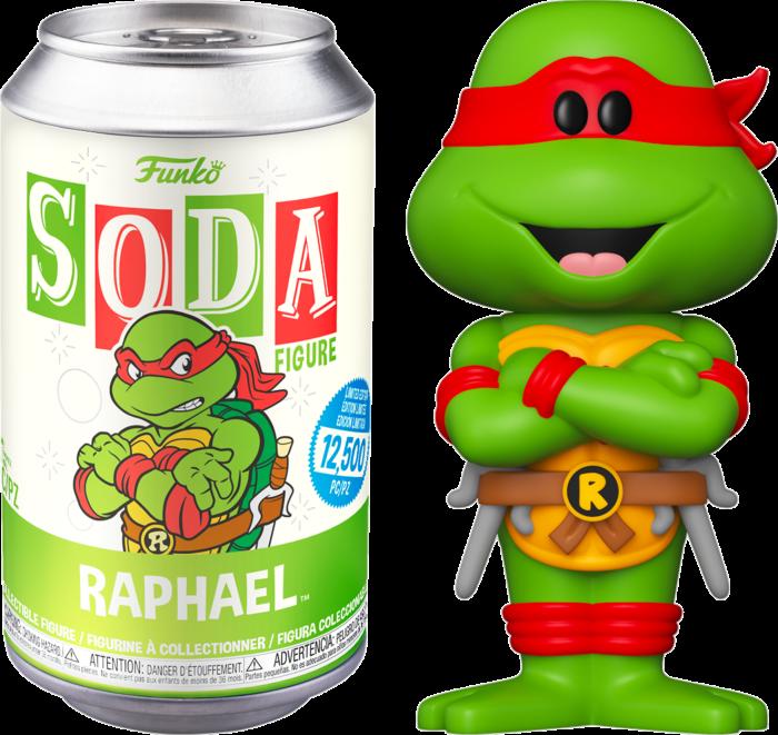 Teenage Mutant Ninja Turtles - Raphael Vinyl SODA Figure in Collector Can