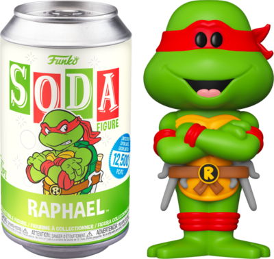 Teenage Mutant Ninja Turtles - Raphael Vinyl SODA Figure in Collector Can