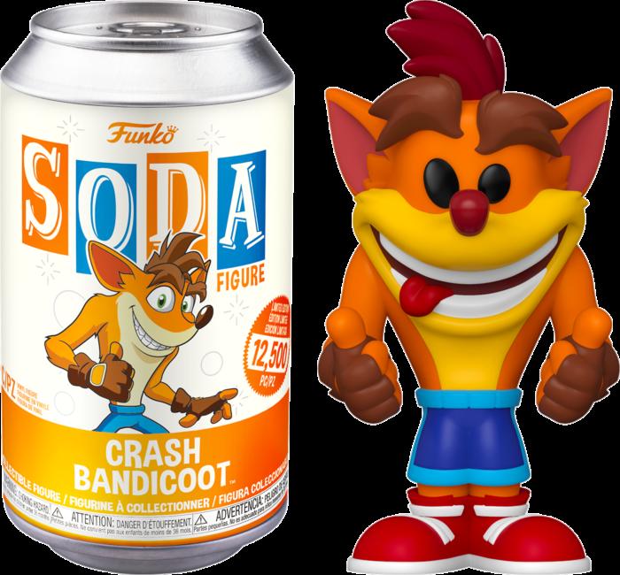 Crash Bandicoot - Crash Bandicoot Vinyl SODA Figure in Collector Can