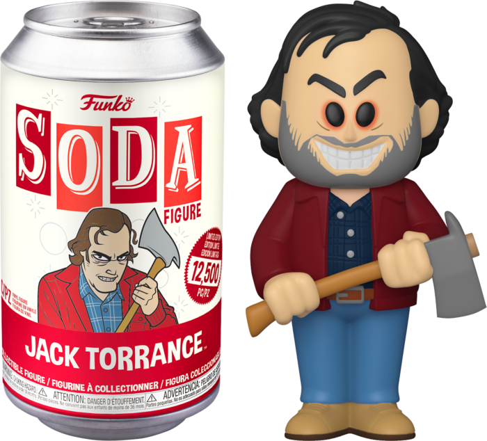The Shining - Jack Torrance Vinyl SODA Figure in Collector Can