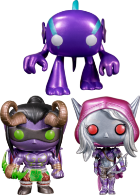 World Of Warcraft - Blizzard 30th Anniversary Metallic Pop! Vinyl Figure