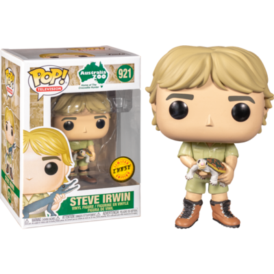 The Crocodile Hunter - Steve Irwin Chase Pop! Vinyl Figure Bundle of 6 (set of 6 Pops)