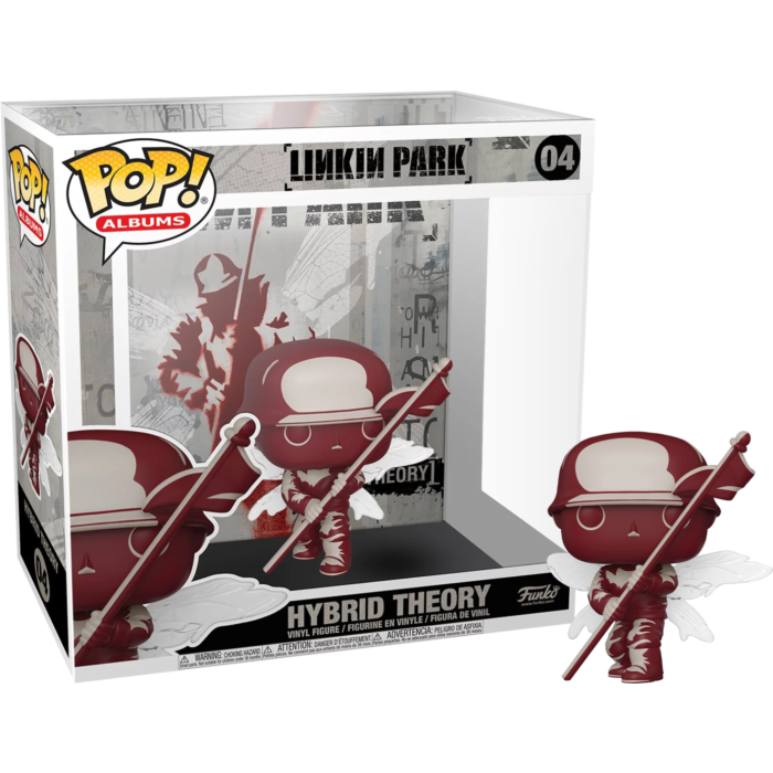 Linkin Park - Hybrid Theory Pop! Albums Vinyl Figure