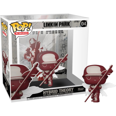 Linkin Park - Hybrid Theory Pop! Albums Vinyl Figure