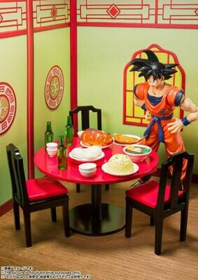 Pre-Order: ​S.H.FIGUARTS Dragon Ball Z Son Goku's Harahachibunme Set (Goku Not included)