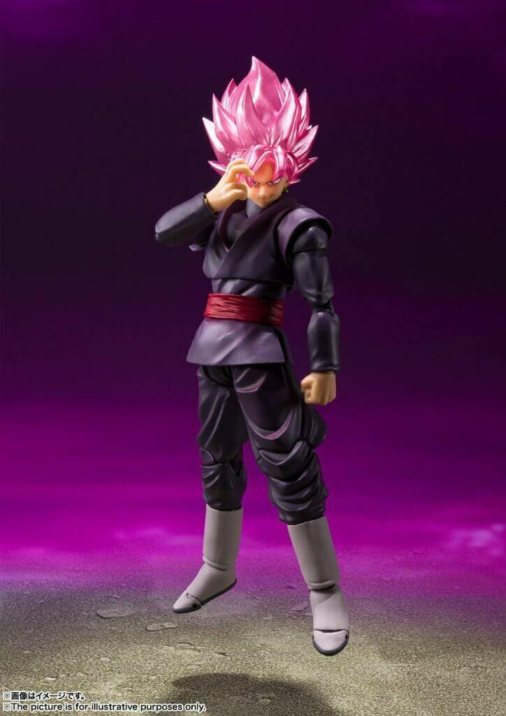 Pre-Order: S.H.FIGUARTS Dragon Ball Super Goku Black Super Saiyan Rose