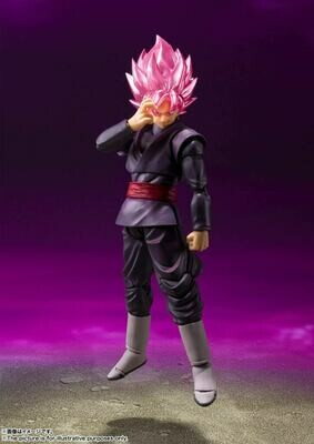 Pre-Order: S.H.FIGUARTS Dragon Ball Super Goku Black Super Saiyan Rose
