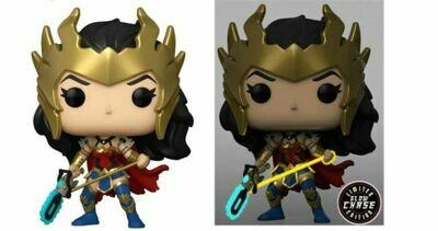 Wonder Woman - Wonder Woman Chase Death Metal 80th Anniversary Pop! Vinyl Figure Bundle of 6 (set of 6 Pops)