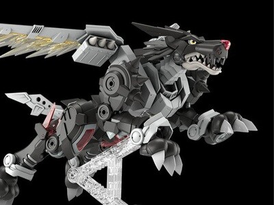 Pre-Order: DIGIMON - FIGURE-RISE STANDARD - AMPLIFIED METALGARURUMON (BLACK VER.)