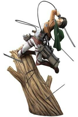 Pre-Order: ATTACK ON TITAN Levi Renewal Package ver. ArtFX J Statue
