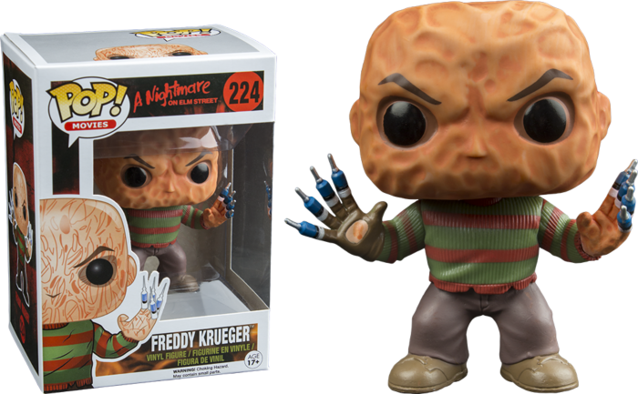 Pre-Order: A Nightmare on Elm Street - Freddy Krueger with Syringe Fingers Pop! Vinyl Figure