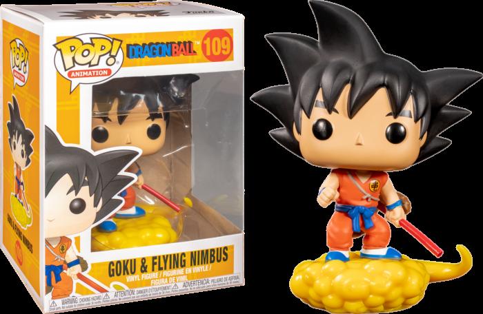 Pre-Order: Dragonball Z - Goku & Flying Nimbus Orange Pop! Vinyl Figure