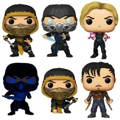Pre-Order: Mortal Kombat (2021) - Mortal Kombat Pop! Vinyl Figure