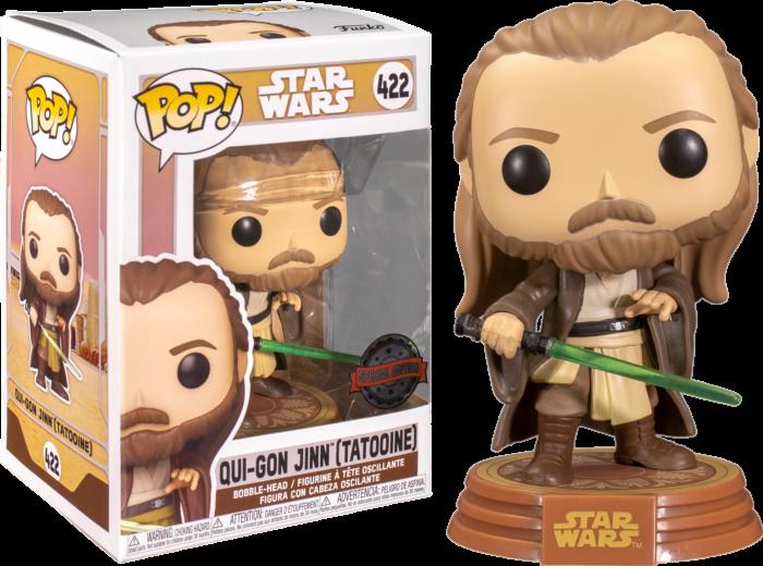 Star Wars: Across The Galaxy – Qui-Gon Jinn Tatooine Pop! Vinyl Figure