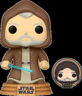 Star Wars: Across The Galaxy – Obi-Wan Kenobi Tatooine Pop! Vinyl Figure with with Enamel Pin