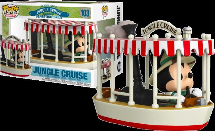 The Jungle Cruise - Mickey Mouse Jungle Cruise Skipper Pop! Rides Vinyl Figure