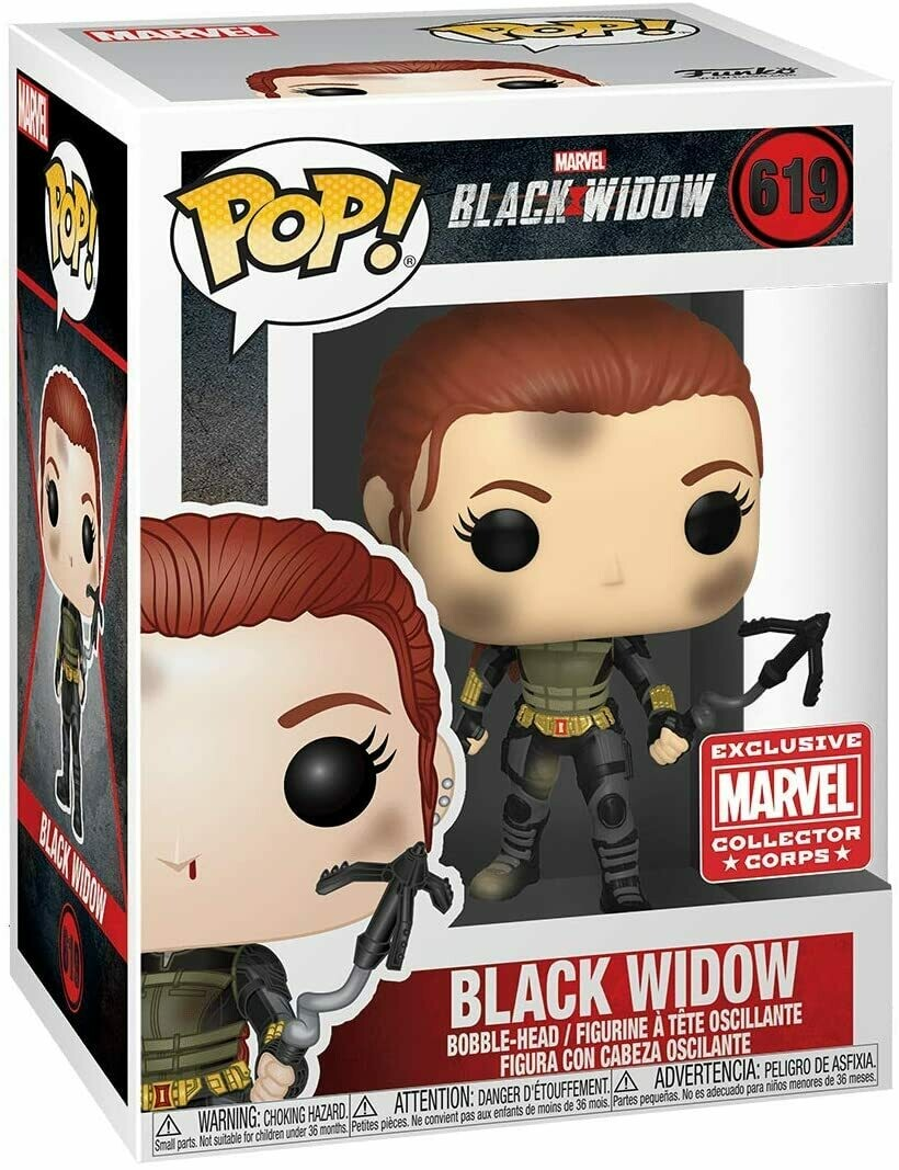 Marvel Collector Corps Exclusive Black Widow: Black Widow Pop! Vinyl Figure