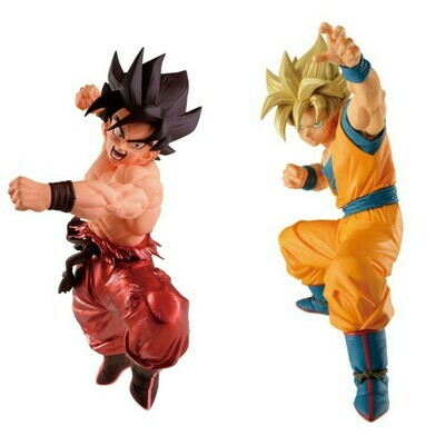 Pre-Order: ​Dragon Ball Z Blood of Saiyans Special X Goku / Dragon Ball Super Super Zenkai Solid Vol.1 Super Saiyan Goku