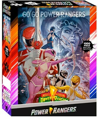 Impact Puzzle Go Go Power Rangers 100 pieces