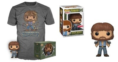 Chuck Norris Pop! Vinyl Figure with T-shirt