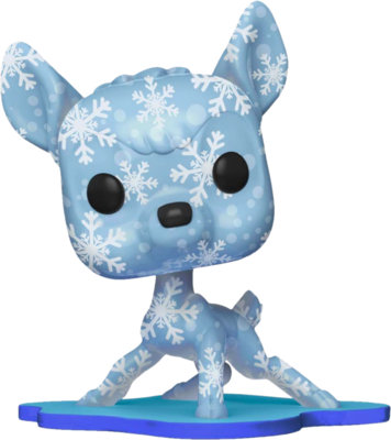 Bambi - Bambi Snowflakes Artist Series Pop! Vinyl Figure with Pop! Protector