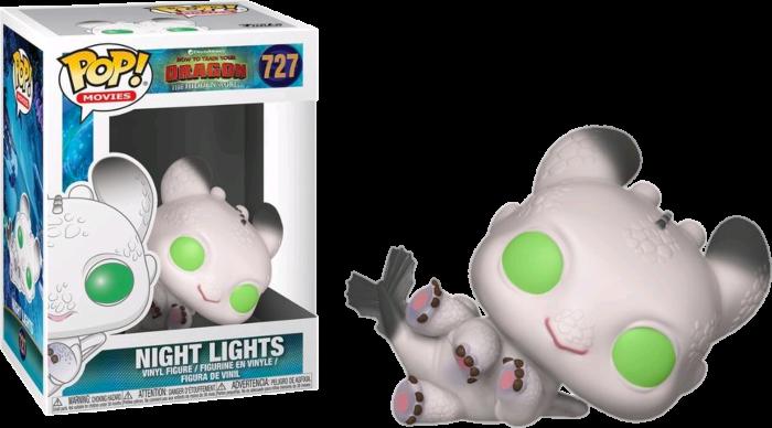 How to Train Your Dragon 3: The Hidden World - Night Lights White & Green Pop! Vinyl Figure