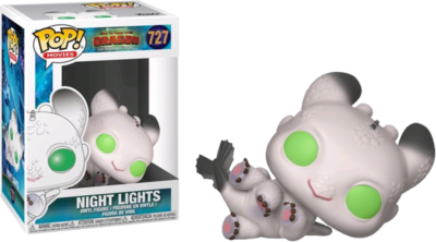 How to Train Your Dragon 3: The Hidden World - Night Lights White & Green Pop! Vinyl Figure