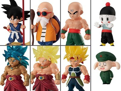 Dragon Ball Adverge Vol. 14 Figures