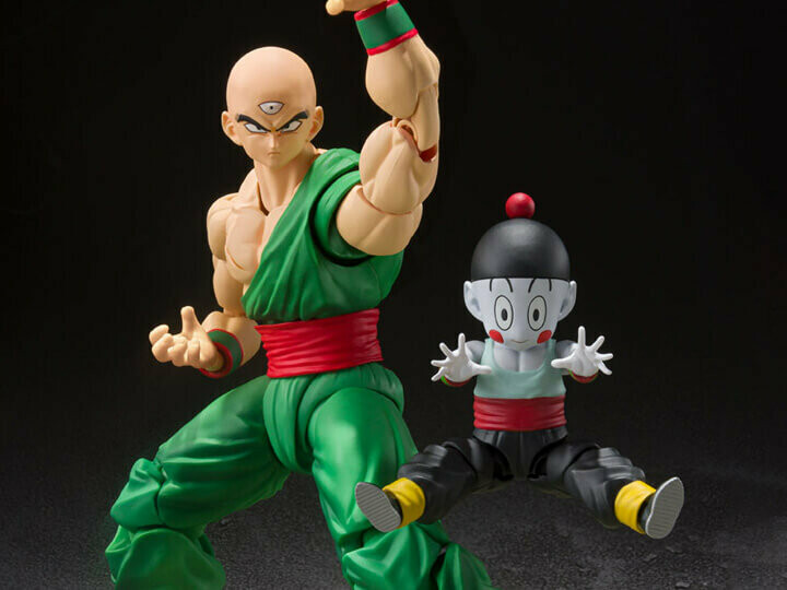 Pre-Order: S.H.FIGUARTS Dragon Ball Z Tenshinhan & Chiaotzu