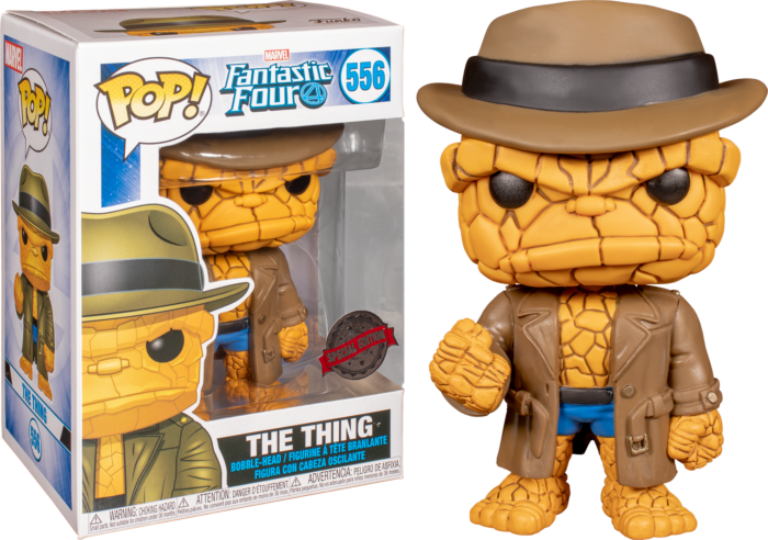 Fantastic Four - The Thing in Disguise Pop! Vinyl Figure (box Damaged)