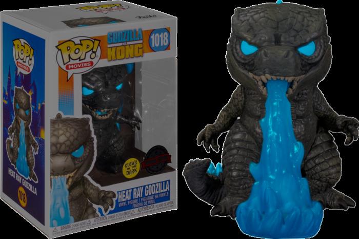Pre-Order: Godzilla vs Kong - Godzilla with Heat Ray Glow in the Dark Pop! Vinyl Figure