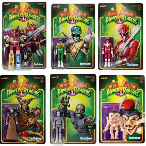 Pre-Order: Power Rangers ReAction Figure