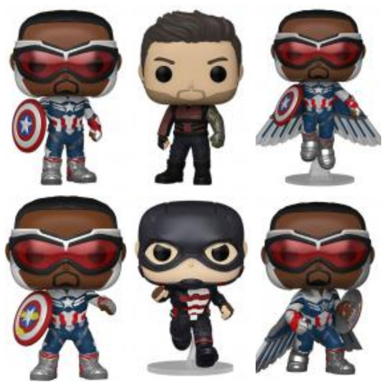 The Falcon and the Winter Soldier Pop! Vinyl Figure