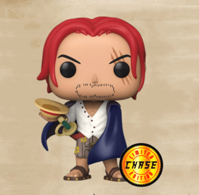 Pre-Order: One Piece - Shanks Pop! Vinyl Figure Bundle of 6 (set of 6 Pops)