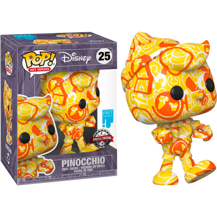 ​Pinocchio - Pinocchio Artist Series 80th Anniversary Pop! Vinyl Figure with Pop! Protector