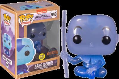 Avatar the Last Airbender - Spirit Aang Glow Pop! Vinyl Figure