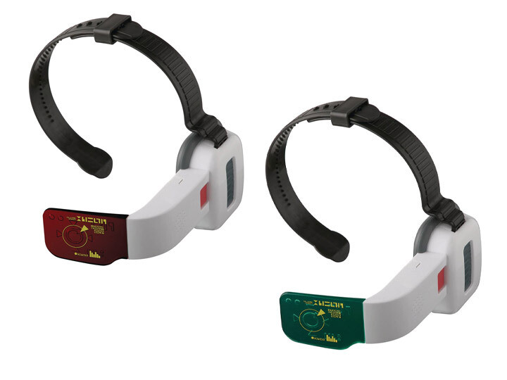 PRE-ORDER: DRAGON BALL SUPER - RED AND GREEN SCOUTER