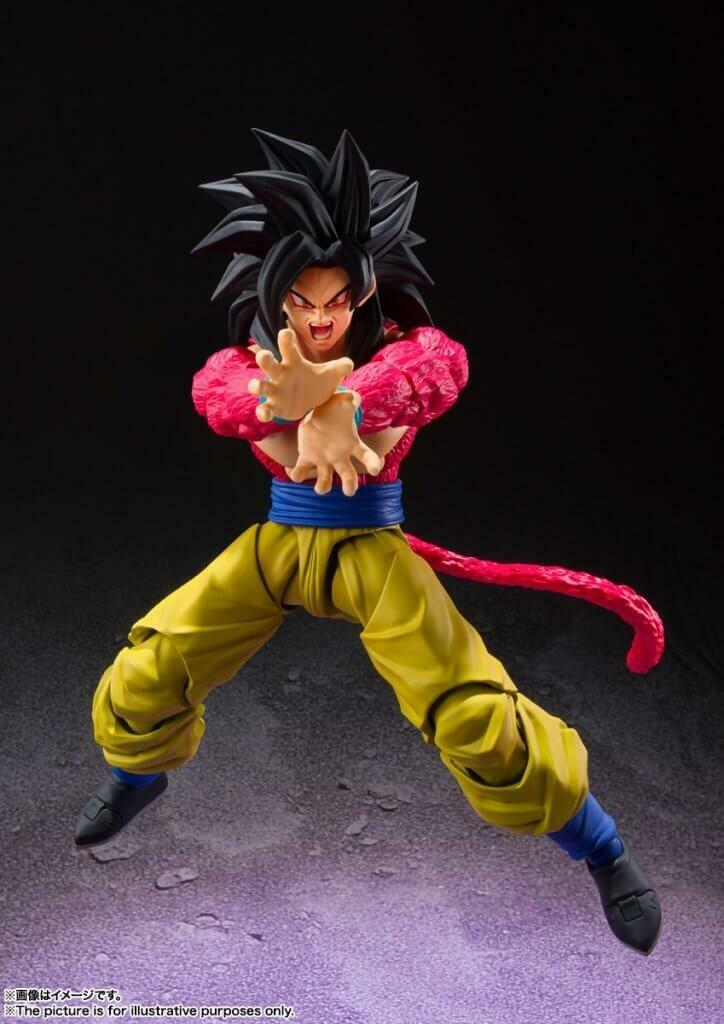 Pre-Order: S.H.FIGUARTS Dragon Ball GT Super Saiyan 4 Son Goku