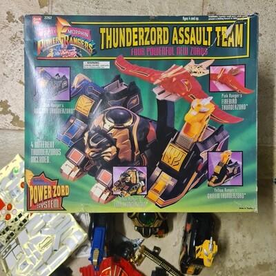 Mighty Morphin Power Rangers Thunderzord Assault Team