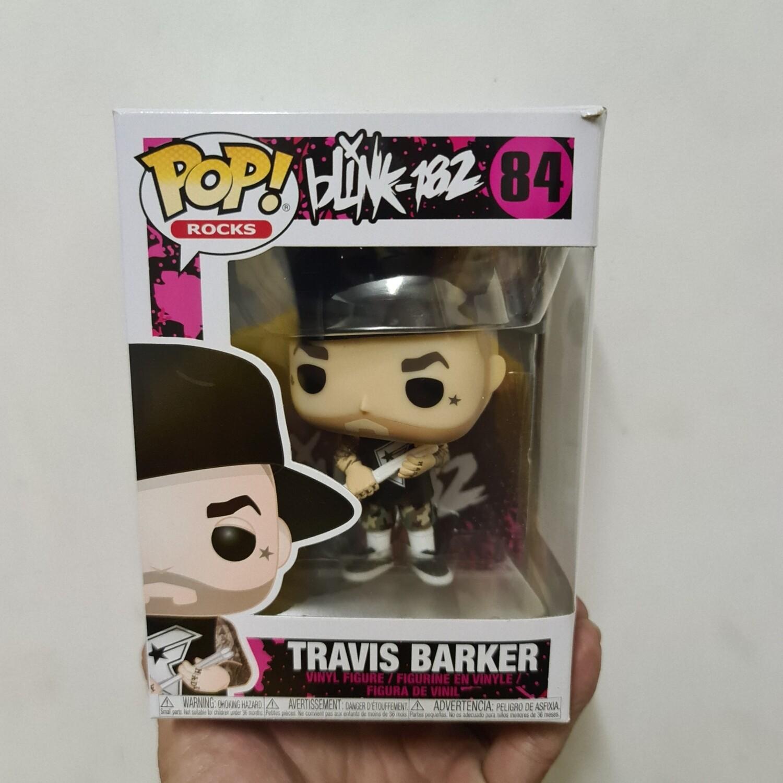 Pop! Rocks Blink 182 Travis Barker Pop! Vinyl Figure (box damaged)