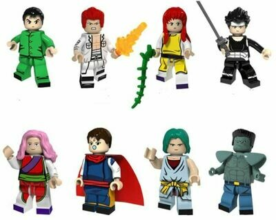 Anime Yu Yu Hakusho Lego Compatible Mini- Figure